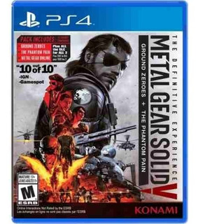 Juego Ps4 Metal Gear Solid V The Definitive Experience