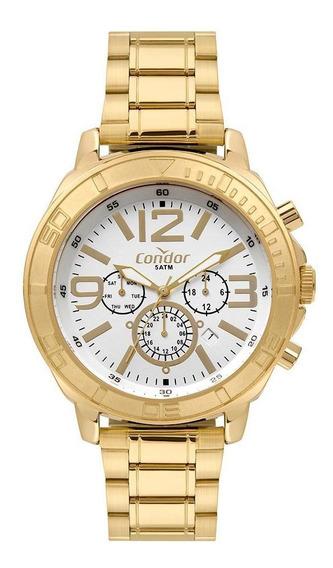 Relógio Condor Civic Masculino Dourado Cojp25ac/t4k