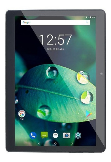 Tablet 10´ 16gb 4g Dual Chip Wi-fi Multilaser Preto Nb287