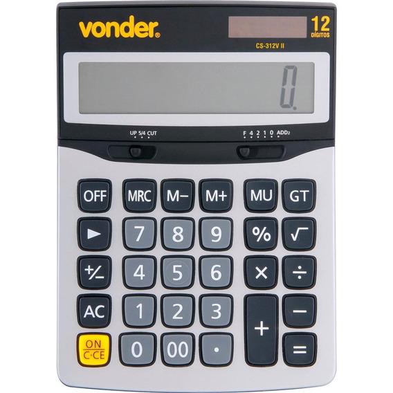 Calculadora Mesa 12 Dígitos Cs 312vii - Vonder
