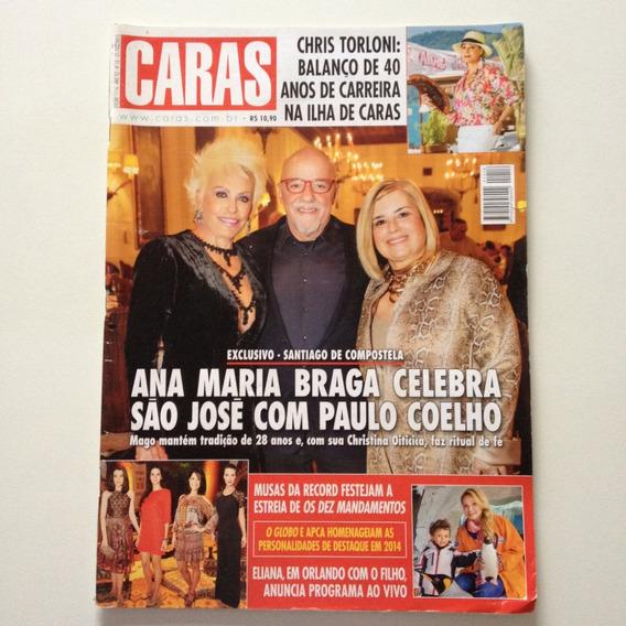 Revista Caras 1116 Ana Maria Braga Paulo Coelho Eliana C830