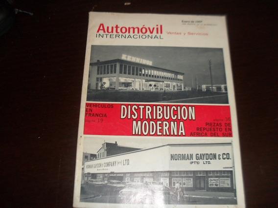 Revista Antiga Janeiro1965 Automovil Internacional Mecanica