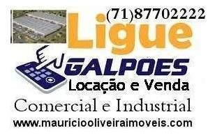 Depósito Para Venda Em Lauro De Freitas, Estrada Do Coco - 450008591_2-321239