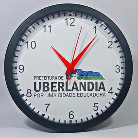 35 Relógios Personalizados C/ Logomarca & Caixas Individuais