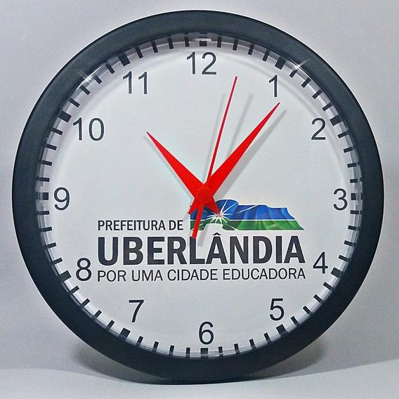 35 Relógios De Parede Personalizados (grande 24cm) - P/ Empresas- Igrejas- Eventos- Celebrações (em Caixas Individuais)
