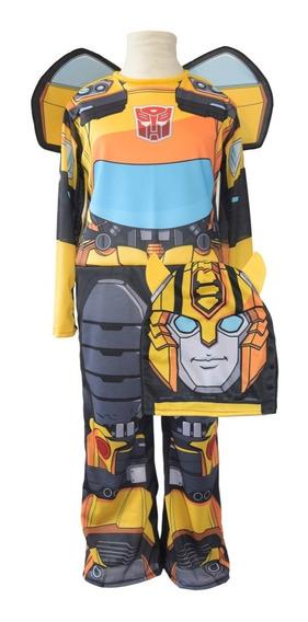 Disfraz Transformers Bumblebee 2018 Con Luz New Toys
