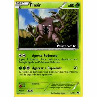 Pinsir - Pokémon Planta Raro - 1/99 - Bw Próximos Destinos