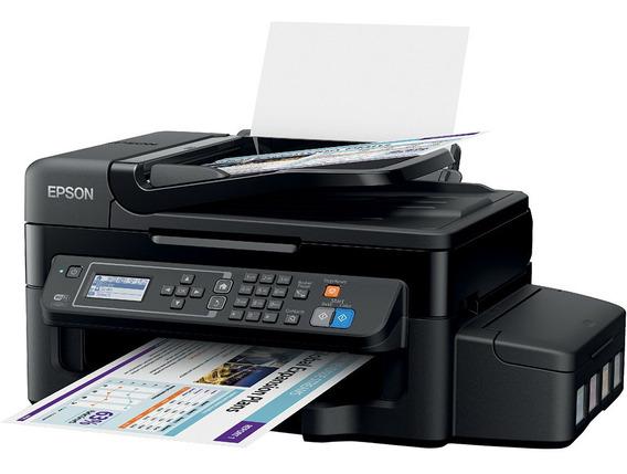 Impressora Multifuncional Epson L575 Tanque De Tinta Wi-fi