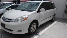 Toyota Sienna Limited 5 Puertas Piel, Color Blanco