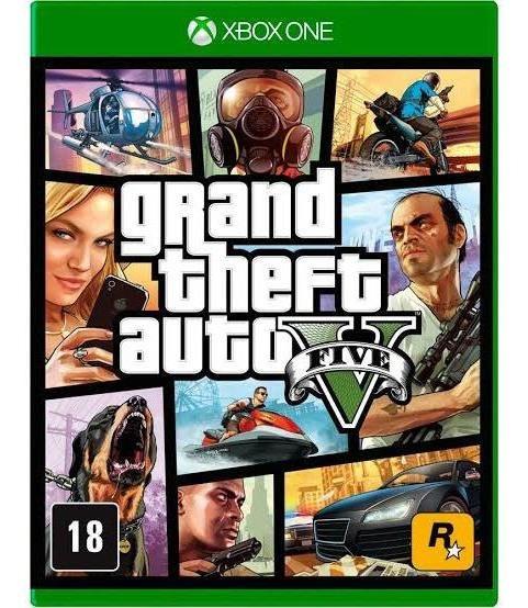Gta V Mídia Digital Offline Xbox One Envio Imediato