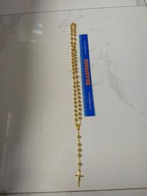 Terço Corrente Dourada 8mm ( Pte=12 Unidades)