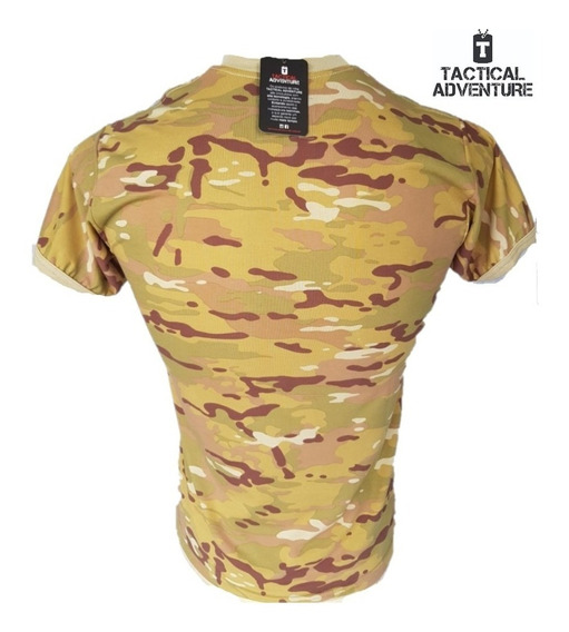 Camiseta Multican T-shirt Tactical Adventure Com N Fiscal