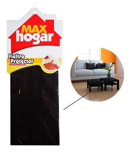 Fieltro Protector Adh 250x100x3 Mm Max Hogar - Café
