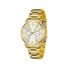 Relógio Lince Feminino Dourado Lmgj070l C2kx