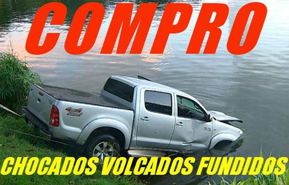 Hilux Compro Amarok Rota C/deudas Vw Toyo Chocada Volcada