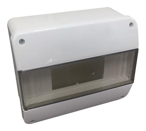 Tablero Electrico Caja Térmica Emb/ext 8 Polos 4 Térmicas