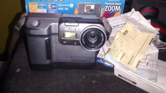 Câmera Digital Sony Mavica Mvc-fd88 (979a)