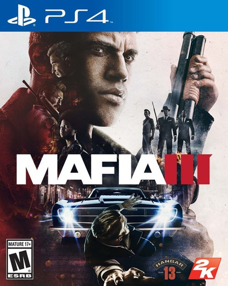 Mafia 3 Ps4 Original**1 Midia Digital