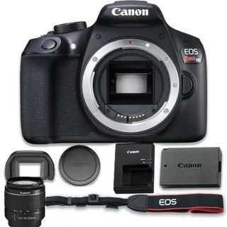 Camara ,canon Eos Rebel T6+lentes 18-55,75-300mm+2cargadores