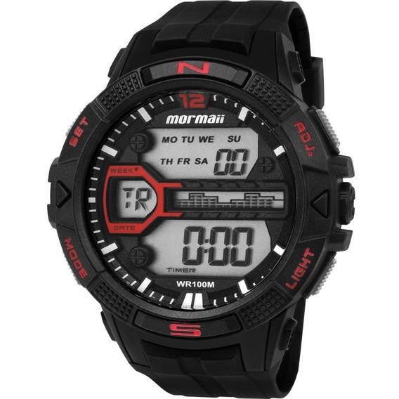 Relógio Mormaii Masculino Digital Preto Mo5000/8p Original