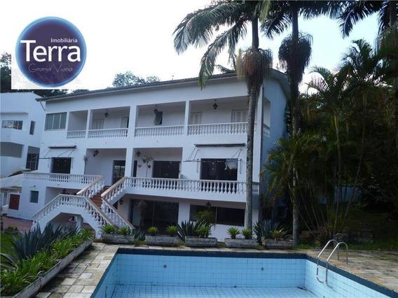 Casa Residencial À Venda, Fazendinha, Granja Viana. - Ca0547