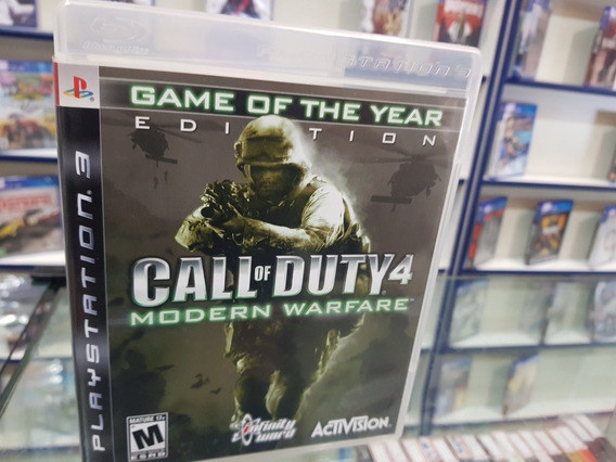 Call Of Duty Modern Warfare 4 Usado Original Ps3 Midia Físic