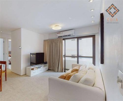 Imagem 1 de 15 de Apartamento Para Compra Com 2 Quartos E 1 Vaga Localizado Na Vila Nova Conceição - Ap54583