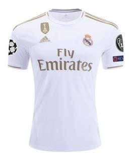 Playera Jersey adidas Real Madrid 2019 Champions #7 Hazard