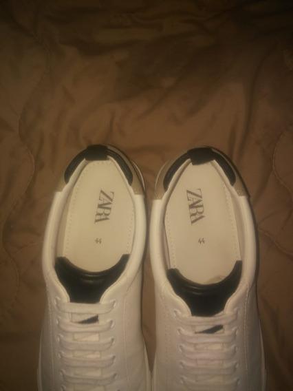 Zapatillas Blancas Marca Zara Original Remate