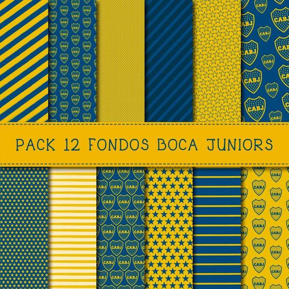 Pack Fondos Boca Juniors