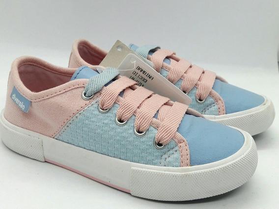Tênis Rosa Infantil Disney Sugar Shoes Rosa Couro 25 3
