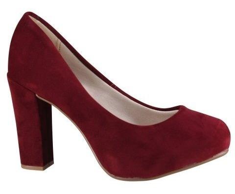 Sapato Beira Rio Conforto Scarpin 4788 200 14220 - Vermelho