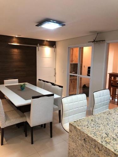 Apartamento Com 3 Dormitórios À Venda, 76 M² Por R$ 570.000,00 - Panamby - Campinas/sp - Ap0037