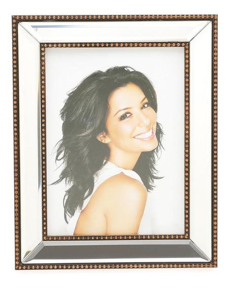 Porta Retrato Para Foto 20x25cm Espelhado Plástico Prestige