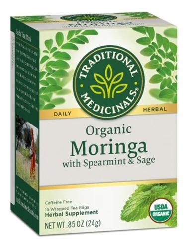 Moringa W/ Spearmint & Sage -- 16 Tea Bags