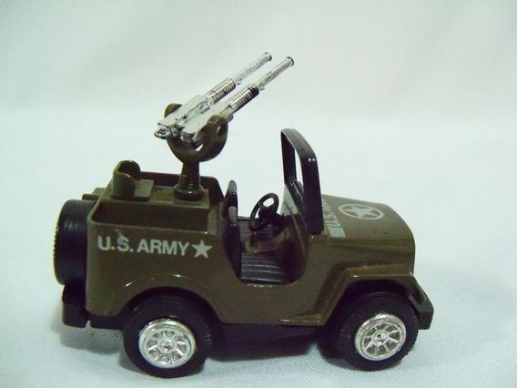 Miniatura Jeep U.s. Army Hong Kong Toys Escala 1/50