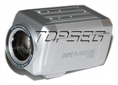Câmera Pro Ccd Sony- Zoom Motorizado 27x - Day & Nigth