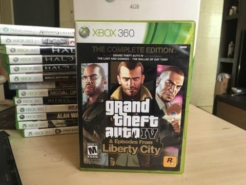 Jogo Gta Iv The Complete Edition Xbox 360 E Xbox One