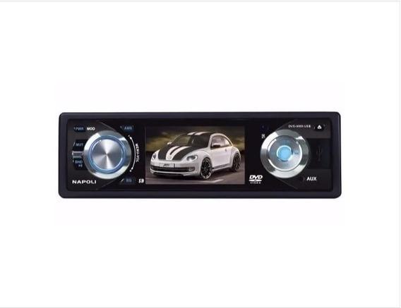 Dvd Player Napoli Audio System 9985 Com Controle Remoto
