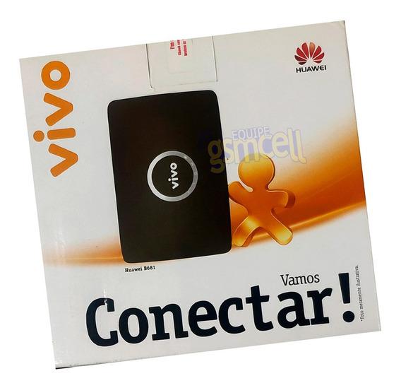 Modem Roteador B681 Wifi 3g Para Antena Rural Novo Na Caixa