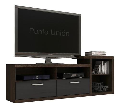 Rack Mesa Para Televisor Grande Elegante Con Cajones R 1455