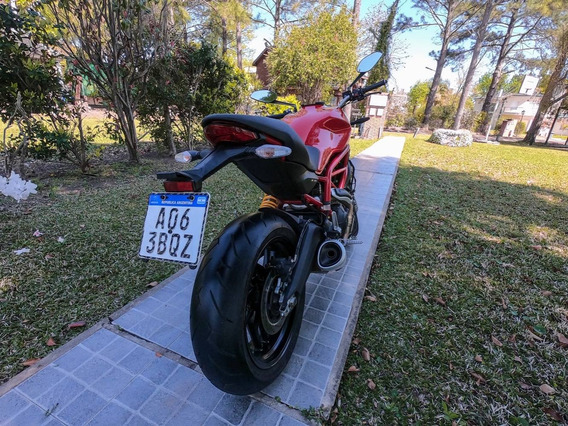 Ducati Monster 797 + Tank Bag Original Ducati