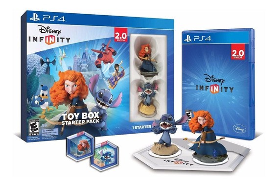 Disney Infinity: Toy Box Starter Pack (2.0 Edition) Ps4