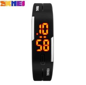 Relógio Skmei 1099 Unissex Led Esportivo Kit 3 Relógios