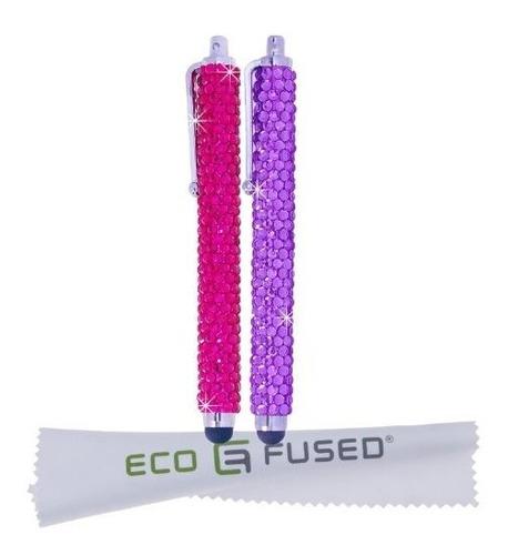 Lapiz Capacitivo Ecológico Ecológico Color Morado