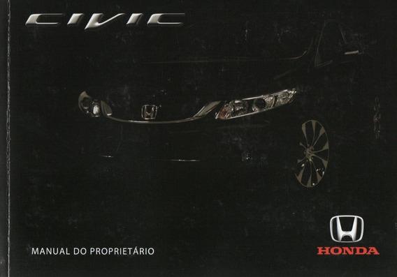 Manual Do Proprietário Honda Civic 2014