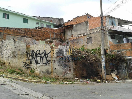 Terreno À Venda, 217 M² Por R$ 330.000,00 - Parque Santo Antônio - Guarulhos/sp - Te0958