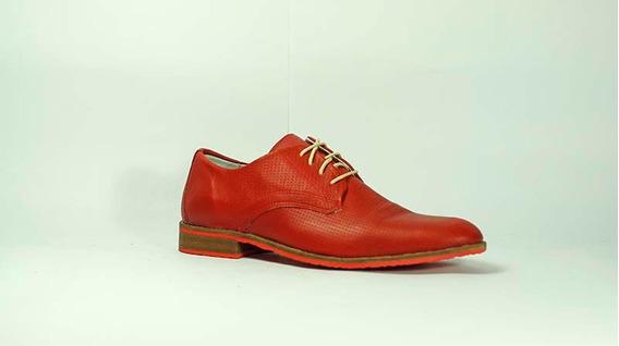 Zapato De Vestir Efesis Acordonado Con Punta