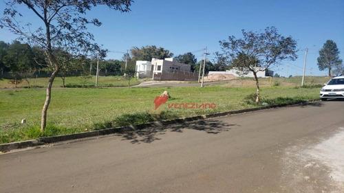 Terreno De 210 M² No Condomínio Portal Do Horto - Te0787