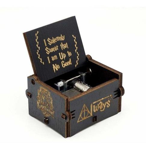 Harry Potter, Caja Musical Heaven Retro  Madera Antigua